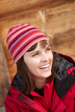 Middle Aged Woman Dressed For Cold Weather Royalty Free Stock Photo