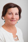 Middle aged woman portrait Stock Photo