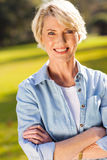 Middle aged woman Royalty Free Stock Images
