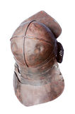 Middle ages battle helmet Royalty Free Stock Photography