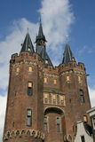 Middle ages castle. Well maintained castle from the middle ages stock image