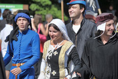 Middle ages festival Royalty Free Stock Images