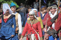 Middle ages festival Stock Photos