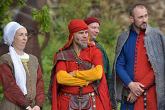Middle ages festival Stock Photography