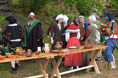 Middle ages festival Royalty Free Stock Photos