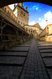 Middle ages passage Royalty Free Stock Image