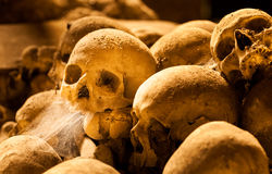 Middle ages skulls Royalty Free Stock Photo