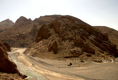 Middle Atlas Mountains. Panoramic view of the Middle Atlas mountains Stock Photos