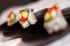 Middle California Roll Stock Image
