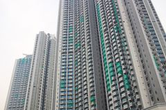 Middle class apartment at Nam Cheong  hk Stock Images