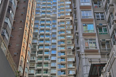 middle class District at  Sai Wan Royalty Free Stock Images