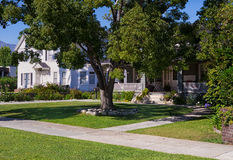 Middle-class Neighborhood. In Southern California Royalty Free Stock Photography