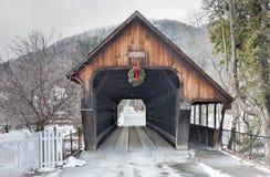 Middle Covered Bridge - Vermont Stock Photos