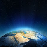 Middle East. Elements of this image furnished by NASA vector illustration