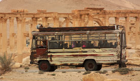 Middle East bus stock photography