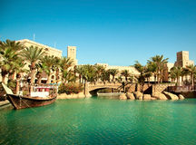 Middle east cityscape Royalty Free Stock Images