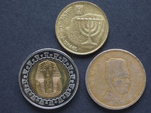 Middle East coins Stock Photo