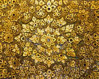 Middle East golden decorations Royalty Free Stock Image