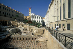 MIDDLE EAST LEBANON BEIRUT. The old town of the city of Beirut in Lebanon in the middle east Stock Images