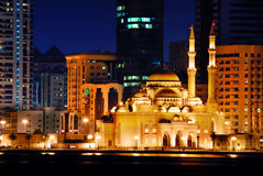 Middle east mosque stock photo