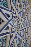 Middle East Ornament. Middle East architecture, wall ornament, exteriour design Royalty Free Stock Images