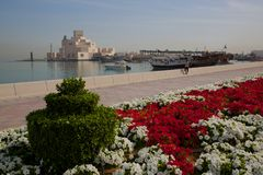 Middle East, Qatar, Doha, Museum of Islamic Art Royalty Free Stock Photography