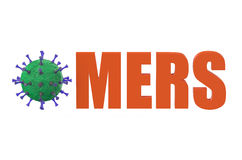 Middle East respiratory syndrome MERS Royalty Free Stock Photography