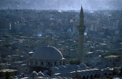 MIDDLE EAST SYRIA ALEPPO OLD TOWN MOSQUE Stock Photo