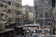 MIDDLE EAST SYRIA DAMASKUS CITY CENTRE Royalty Free Stock Image