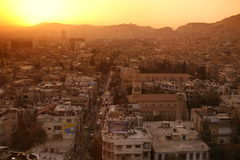 MIDDLE EAST SYRIA DAMASKUS CITY CENTRE Royalty Free Stock Photography