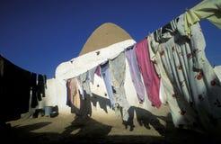MIDDLE EAST SYRIA HAMA SAROUJ HOUSE Stock Image