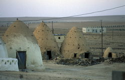 MIDDLE EAST SYRIA HAMA SAROUJ HOUSE Royalty Free Stock Image