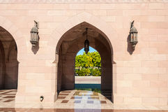Middle eastern architecture Stock Photo