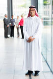 Middle eastern businessman Stock Image