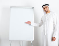 Middle Eastern businessman Stock Images
