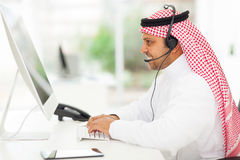 Middle eastern businessman Royalty Free Stock Photos