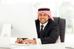 Middle eastern corporate Stock Image