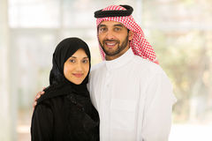 Middle eastern couple Royalty Free Stock Photos