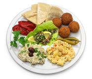 Middle eastern cuisine Royalty Free Stock Photo