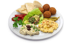 Middle eastern cuisine Stock Photography