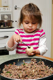 Middle Eastern cuisine - Kubbeh matfuniya Royalty Free Stock Image