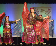 Middle Eastern Dancers Royalty Free Stock Image