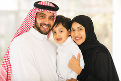 Middle eastern family Stock Photos