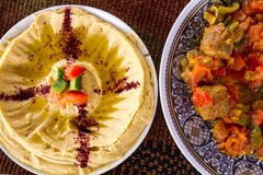 Middle Eastern food Stock Photos