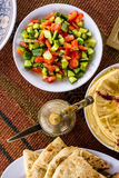 Middle Eastern food Royalty Free Stock Photos