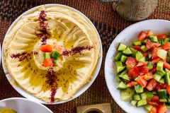 Middle Eastern food Stock Image