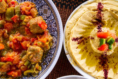 Middle Eastern food Royalty Free Stock Images