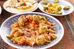 Middle Eastern food Stock Photography