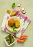 Middle-eastern food. Stock Images