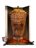 Middle Eastern Grilled Lamb Kebab Meat Isolated Royalty Free Stock Image